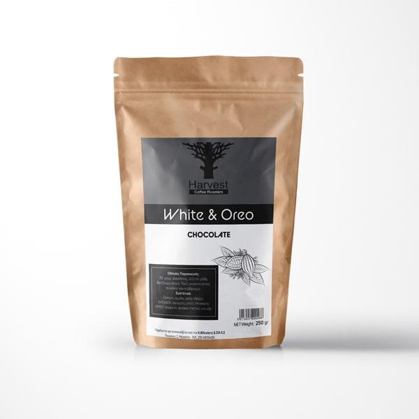 Harvest Ρόφημα Λευκής Σοκολάτας με Oreo