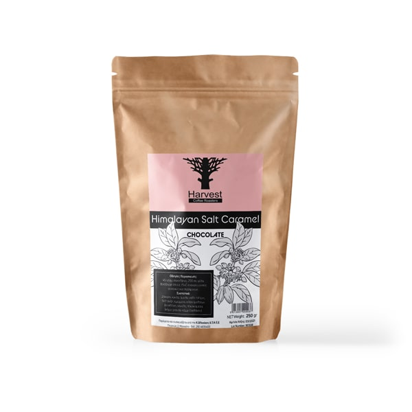 Harvest Ρόφημα Σοκολάτας με Γεύση Καραμέλα & Αλάτι Ιμαλαΐων